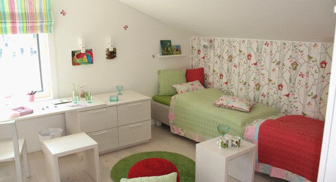 Im kinderzimmer kann es gar nicht fr hlich genug zugehen - Kinderzimmer holzhaus ...